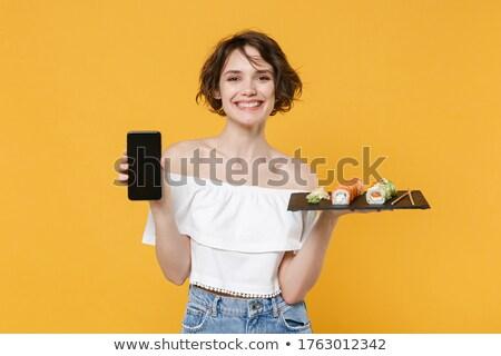 黄色 服 セット 少女 中国語 ストックフォト © toyotoyo