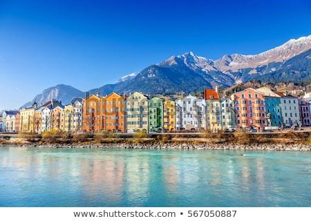 historyczny · ulicy · widoku · alpejski · miasta · region - zdjęcia stock © borisb17
