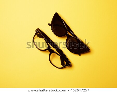 Moda conjunto dois óculos de sol pastel fundos Foto stock © serdechny