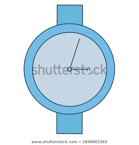 Reloj manos tiempo plazos web Foto stock © robuart