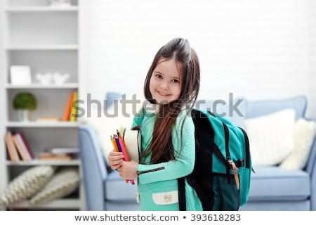Terug naar school schrijfbehoeften leerlingen kinderen vector onderwijs Stockfoto © robuart