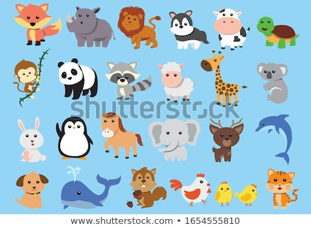 monkey animal character cartoon illustration Stock photo © izakowski