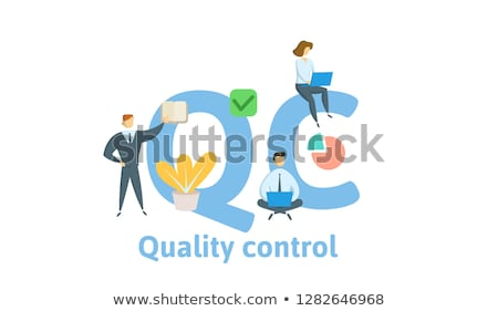 Stok fotoğraf: Standard For Quality Control Concept Banner Header