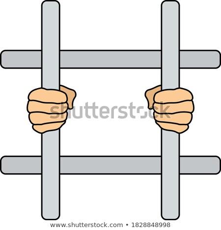Criminelle mains icône illustration vecteur Photo stock © pikepicture