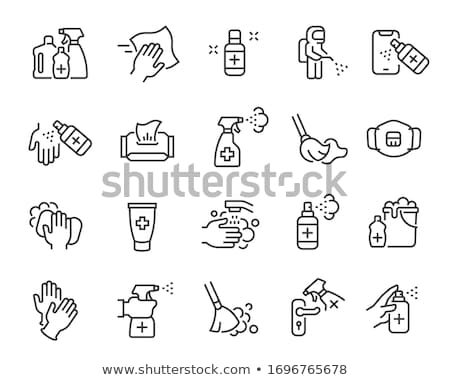 Haushalt Chemikalien Web Benutzer Stock foto © ayaxmr