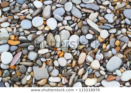 Pebbles texture  stone background Stock photo © Zela