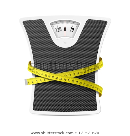 Weights and tape measure Stock photo © Winner