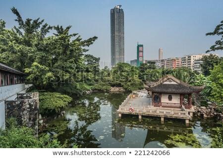 Kowloon Walled City Park - Hong Kong Stock photo © jeayesy