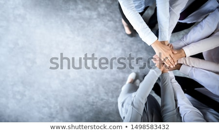 üzlet együttműködés emberek dolgoznak megbeszélés munka igazgató Stock fotó © silent47
