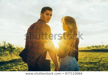 handsome man nude with woman