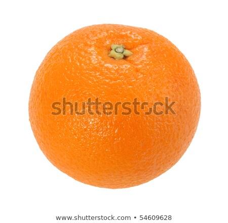uno · completo · arancione · isolato · bianco · primo · piano - foto d'archivio © boroda