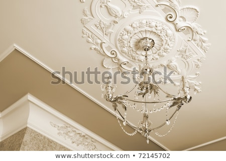 chandelier hanging from ceiling Stock photo © clearviewstock