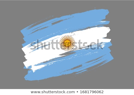 Argentine flag drawing Stock photo © marinini