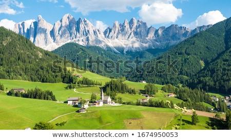 Montanhismo norte italiano alpes europa céu Foto stock © haraldmuc