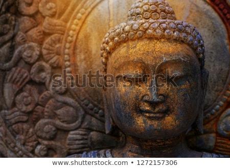 Buddismo scultura mitologia tempio Foto d'archivio © smithore