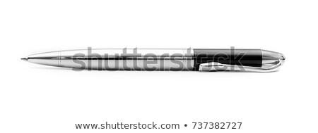 Bola caneta preto dourado madeira Foto stock © ziprashantzi