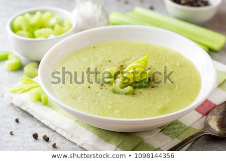 Cream of celery soup Stock photo © joker