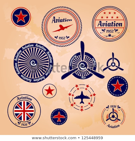 Aviator sticker Stock photo © sahua