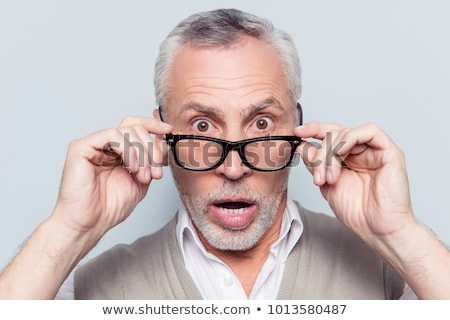 Portrait of an astonished man Stock photo © photography33