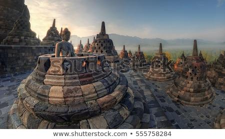 buda · estátua · bali · Indonésia · templo · pedra - foto stock © travelphotography