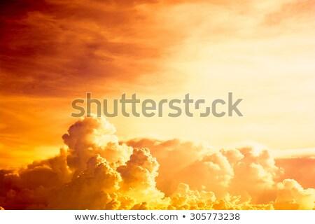 Golden clouds Stock photo © Forgiss