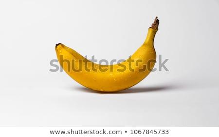 Raw Yellow bananas with Water drops  Stock photo © tab62