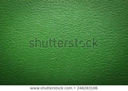 yeşil · taklit · deri · doku - stok fotoğraf © homydesign