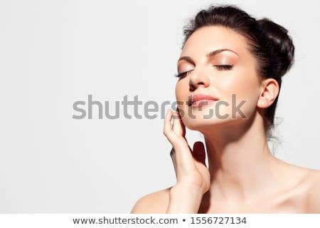 Artistik atış güzel bir kadın güzel çıplak Stok fotoğraf © pxhidalgo