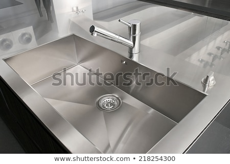 Stainless steel kitchen faucet  Stock photo © Kirill_M