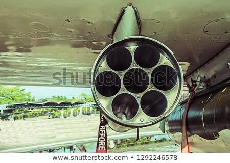 Kanon buis detail technologie Stockfoto © w20er