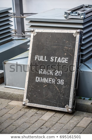Professional roadie. Stock photo © Fisher