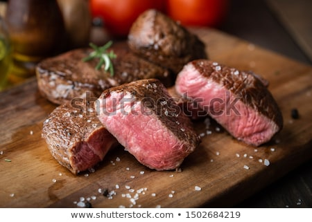 beef cooked with vegetable Stock photo © M-studio
