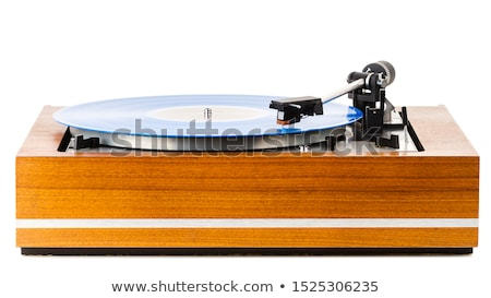Vintage turntable platter   Stock photo © Taigi