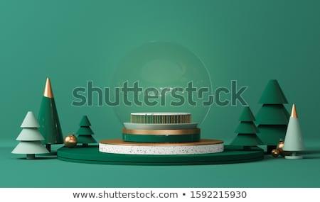 3d snow globe stock photo © daboost