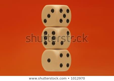 Dés tous nombre nombre Photo stock © PokerMan