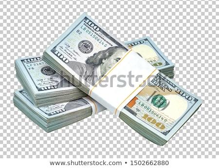 Stok fotoğraf: Dolar · para · yeni · 100