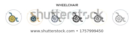 Hospital Health Square Vector Black Button Icon Design Set 2 Stock photo © rizwanali3d