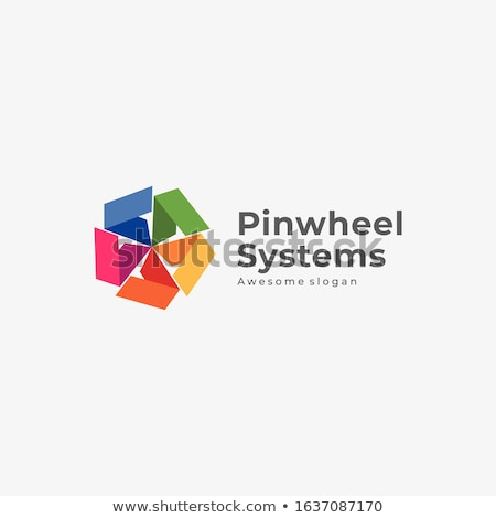 Colorful pinwheel. Stock photo © VisualCorruption