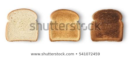 изолированный белый хлеб ломтик белый Сток-фото © tetkoren