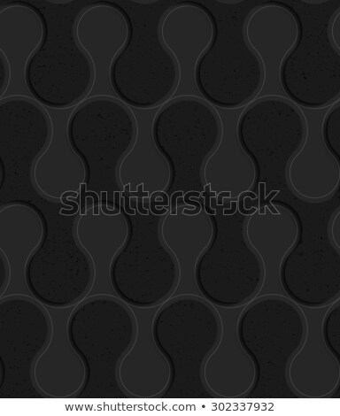 Black textured plastic solid rounded waves  Stock photo © Zebra-Finch