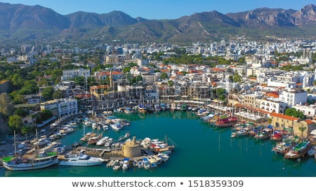 puerto · Chipre · paisaje · océano · viaje · barco - foto stock © Kirill_M