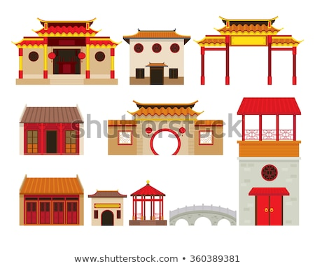 китайский святыня фото Китай Сток-фото © fatalsweets