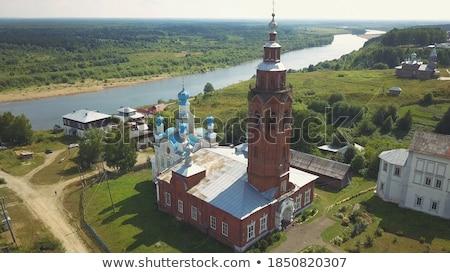 Old rural village bell Stock photo © jordanrusev