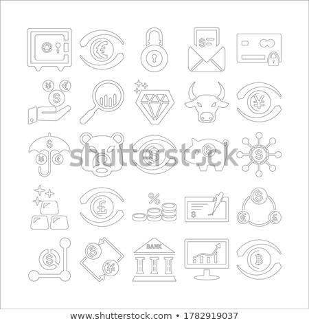 Tudomány szett oktatás színes ikon szett gyógyszer Stock fotó © Genestro