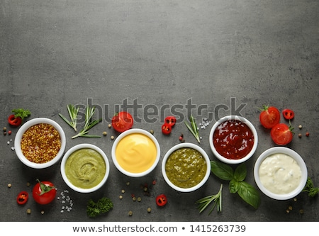 Variety of sauces Stock photo © Digifoodstock