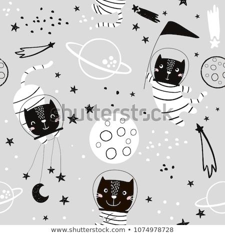 Estrela padrão criança vetor tecnologia Foto stock © Galyna