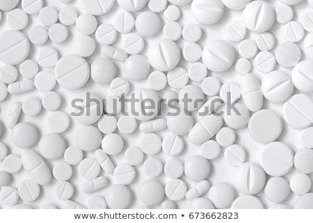 錠剤 緑 科学 ヘルプ 自殺 ストックフォト © razvanphotos