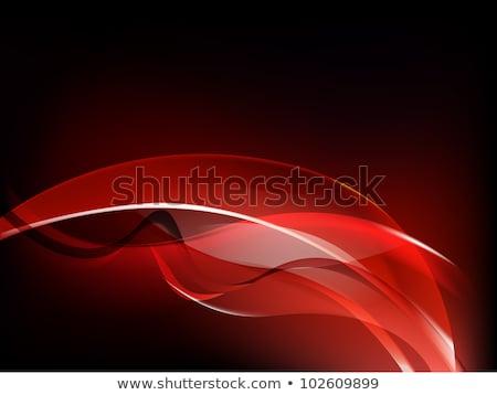 red luminescence on black Stock photo © Mikko