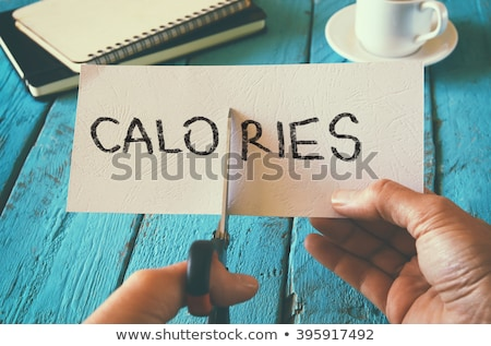 Cutting Calories Stock photo © Lightsource