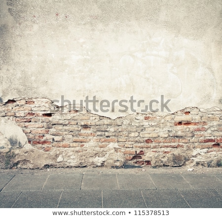 Graffiti On An Ancient Wall Photo stock © donatas1205